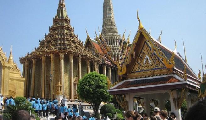 Der wohl bekannteste Tempel im Land - Wat Phra Keo in Bangkok.