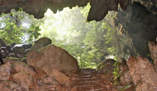 Belize in Mittelamerika, Land der Höhlen