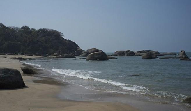 Agonda Beach, die Strandperle mit viel Platz in Goa, Indien