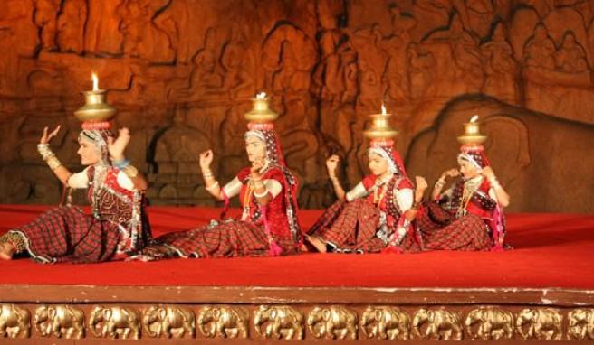Mahabalipuram, perfekter Einstieg in die Kultur Indiens beim Mamallapuram Tanzfestival