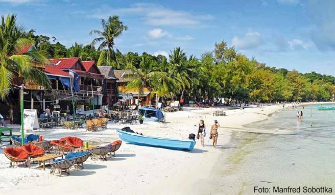 Backpacker-Ziel vom Feinsten: der Touch Beach auf Koh Rong