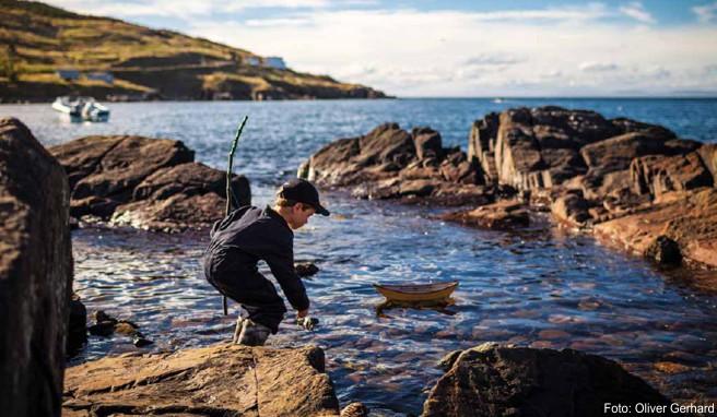 Die Avalon-Halbinsel mit ihrer zerklüfteten Küste ist nicht nur für Kinder ein fantastischer Abenteuer-Spielplatz