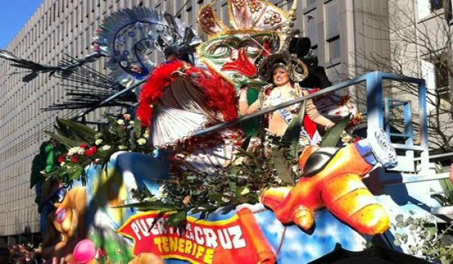 Kanarische Inseln,farbenfroher Karneval in Spanien