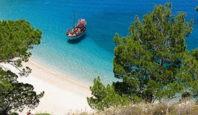 Der Apella Beach auf Karpathos zählt mit zu den schönsten in Griechenland.