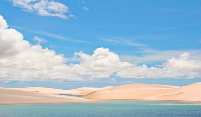 Die fanstastischen Dünen der Lencois von Maranhao in Brasilien