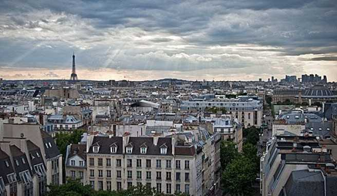 Über den Dächern von Paris, Frankreich