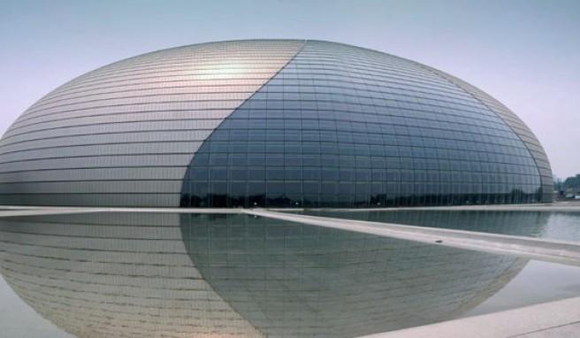 The Egg, Chinas neues Nationales Zentrum für Darstellende Künste in Peking