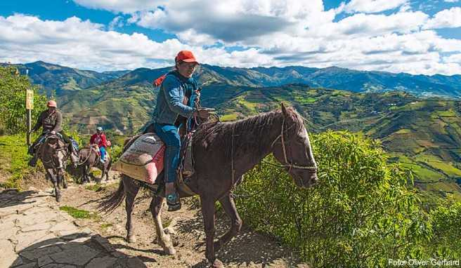 Das Pferd ist im Hochland von Peru immer noch ein unverzichtbares Transportmittel