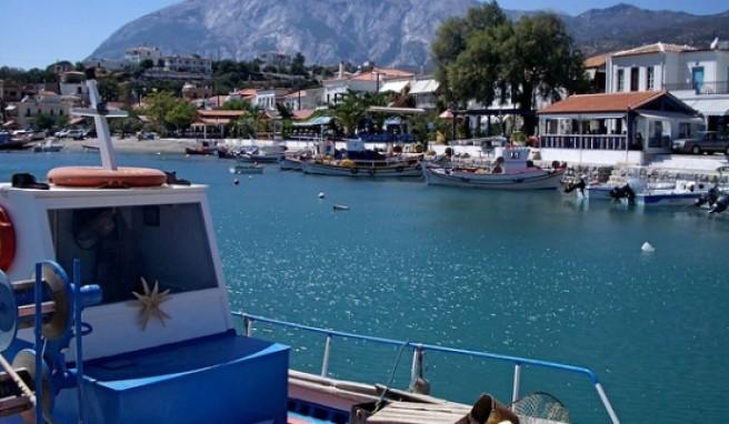 Das Insel-Quartett Samos bietet nicht nur Traumbuchten sondern auch Gebirge