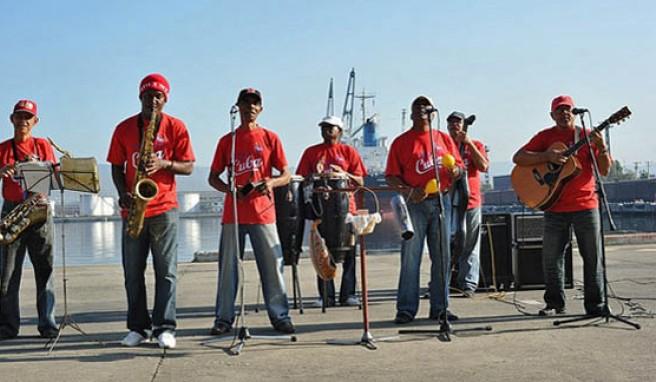 Santiago de Cubas Herz schlägt auch musikalisch in Afrika, Kuba