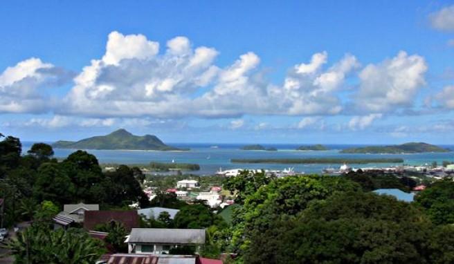 Victoria, die Hauptstadt der Seychellen