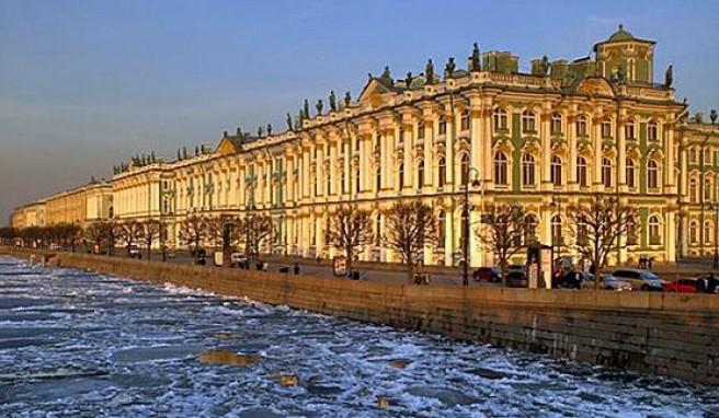 Die Eremitage in St. Petersburg, ist eines der schönsten Museen der Welt,Russland