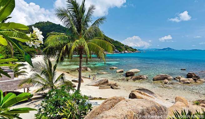 Für Koh Samui ungewohnte Ruhe und relaxte Atmosphäre bietet der familienfreundliche Silver Beach