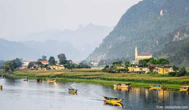 Das malerisch gelegene Dorf Phong Nha profitiert vom Individualtourismus und einem der längsten unterirdischen Höhlensysteme der Welt