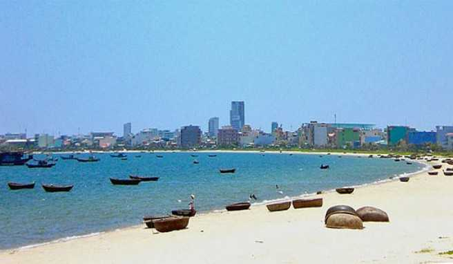 China Beach in Da Nang, Vietnam