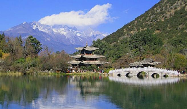 Reisen in Yunnan und Seen, Flüsse, Berge und Pagoden in China genießen