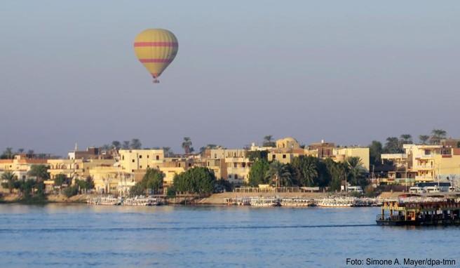 Luxor im Süden Ägyptens ist Ausgangspunkt für eine Flusskreuzfahrt über den Nil bis nach Assuan