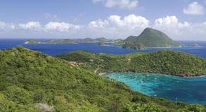 Die Insel Guadeloupe in der Karibik gehört zu Frankreich. Das europäische Land war viele Jahre Kolonialmacht