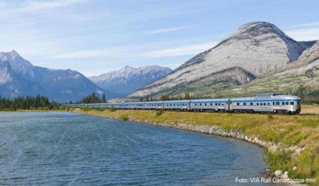 Kanada mit der Bahn erleben: Ende des 19. Jahrhunderts bedeutete die Fertigstellung der Canadian Pacific Railway einen Brückenschlag von Ost nach West und die Einheit des Landes