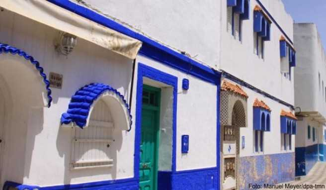 Eine Perle an Marokkos Atlantikküste: Asilah mit seinen weiß und blau gestrichenen Häusern
