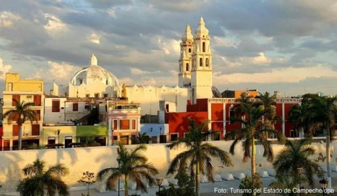 Koloniale Pracht: Campeche wurde einst von den Spaniern gegründet