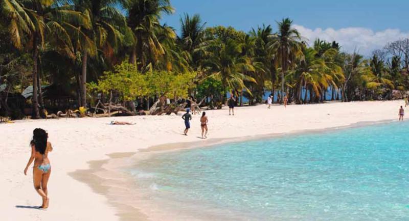 Die Strände auf Malcapuya Island sind paradiesisch schön
