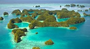 Palau besteht aus 356 Inseln