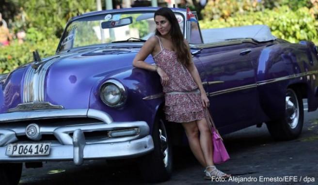 Ausflüge mit einem Oldtimer gehören für viele Kuba-Urlauber zum Pflichtprogramm