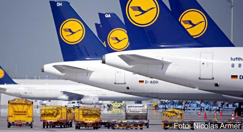 MWieder wird bei Lufthansa gestreikt