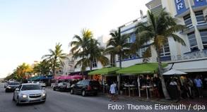 Auch im Touristenmekka Miami Beach macht sich der Zika-Erreger breit
