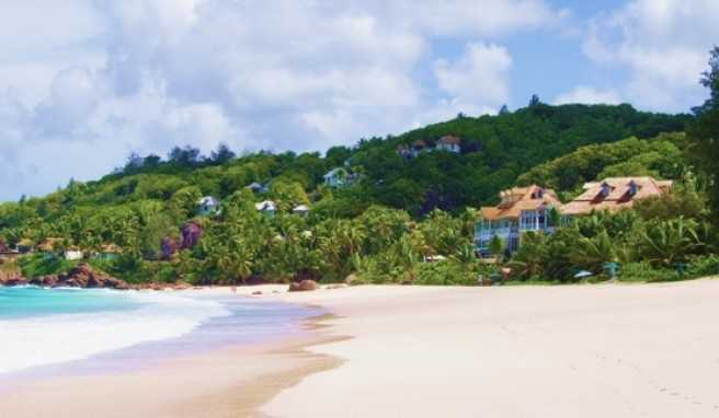 Die Anse Intendance im Süden der Hauptinsel Mahé ist eine der schönsten Strände der Seychellen