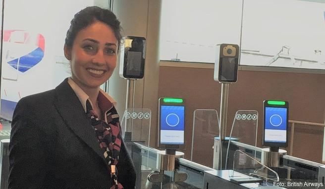 British Airways ist bei der biometrischen Gesichtserkennung am Flughafen Vorreiter