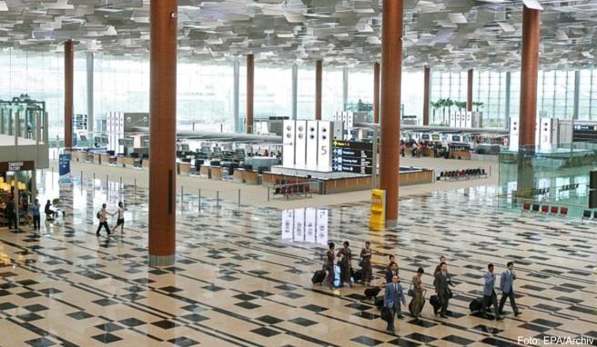 Der Changi Airport in Singapur hat seine Spitzenposition verteidigt