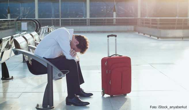 Starke Nerven und viel Sitzfleisch benötigten die Reisenden beim Warten