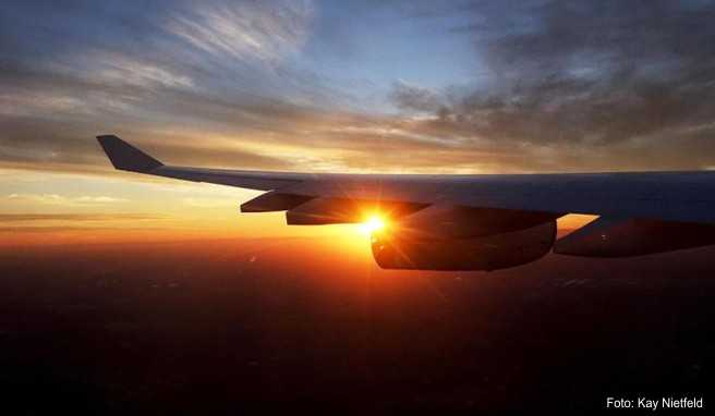 Müssen die Flugzeug in Richtung USA eigentlich einen Umweg fliegen?