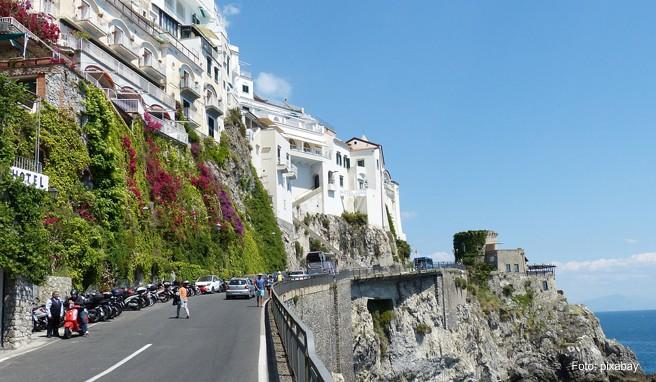 Italiens Amalfiküste gehört zu den Lieblingsregionen der Deutschen