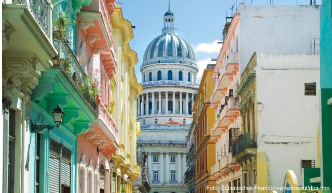 Pittoresk und größtenteils auch ganz gut in Schuss: Die Altstadt von Havanna gehört zum Weltkulturerbe der Unesco