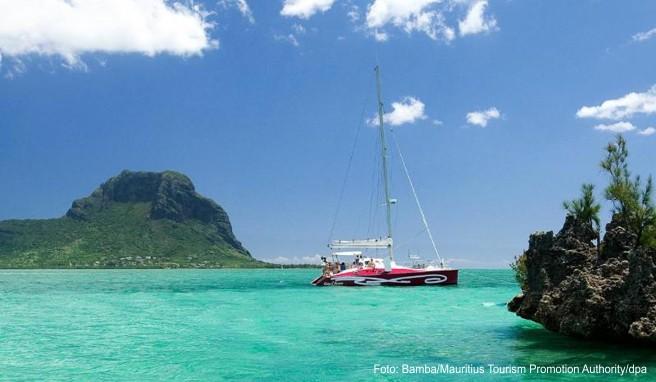 Der Himmel, das Wasser: Mauritius ist eine Reise ins Blaue