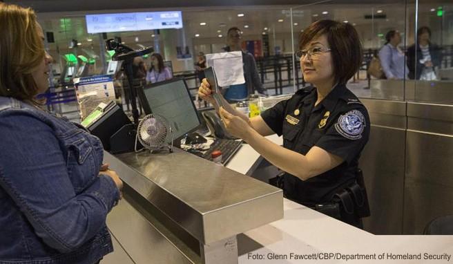 Ankunft in den USA am Flughafen Boston: Die meisten Deutschen sind problemlos mit der Einreisegenehmigung Esta unterwegs