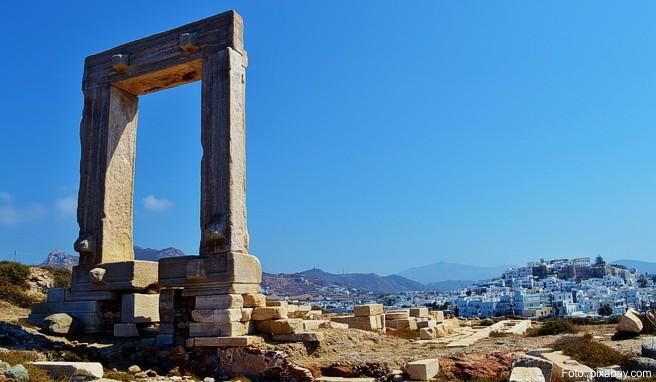 Die griechische Insel Naxos ist die größte der Kykladen