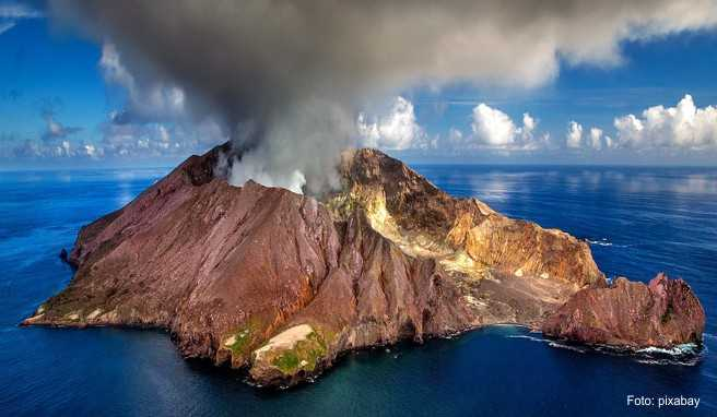 White Island ist Neuseelands einziger aktiver Meeresvulkan
