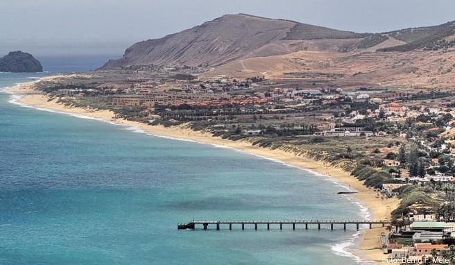 Ruhe statt Rummel: Wegen des neun Kilometer langen Sandstrands wird Porto Santo auch Sandkiste des Atlantiks genannt