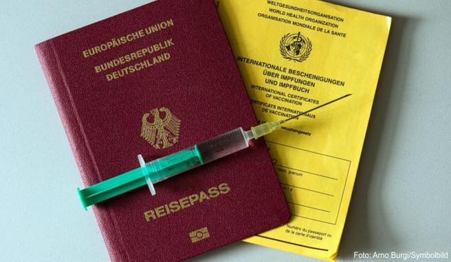 Reisepass und Impfausweis sollte man bei Auslandsreisen außerhalb Europas stets dabei haben