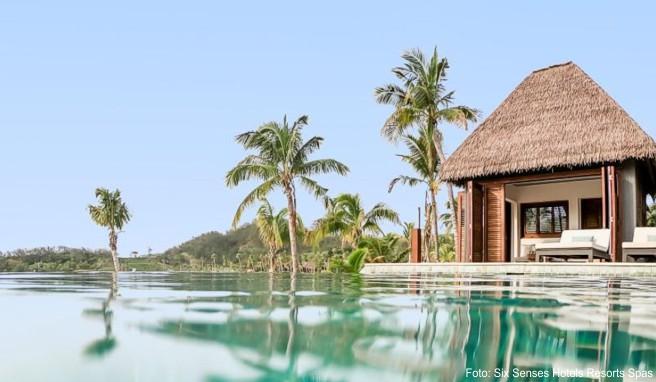 Südsee-Hideaway auf Fidschi von «Six Senses Hotels Resorts Spas»: Die Gruppe setzt besonders auf Nachhaltigkeit - die ist auch vielen Luxusreisenden wichtig