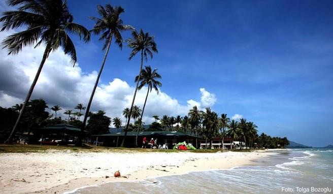 Auf Ferieninseln wie Ko Samui hinterlassen Fischerei und Tourismus einige Umweltschäden. Mit neuen Verboten will Thailand nun dagegen vorgehen