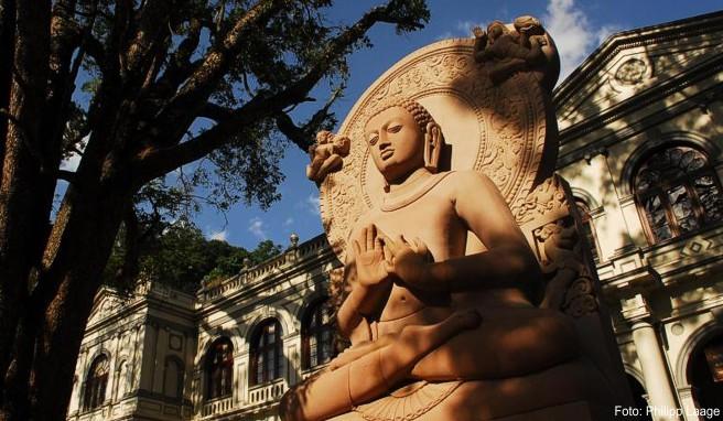 Kandy ist eine beliebte Station auf Rundreisen in Sri Lanka