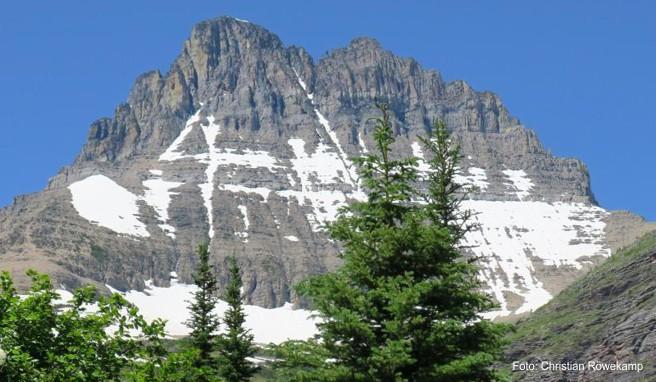 Unterwegs in der »Krone des Kontinents«: Mitten durch den Glacier-Nationalpark in den USA verläuft der Hauptkamm der Rocky Mountains