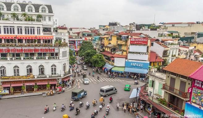 Zu den Sehenswürdigekeiten in Hanoi zählt auch das Restaurant «Bun Cha Huong Lien». Barack Obama traf sich dort 2016 mit Fernsehkoch Anthony Bourdain zum Essen