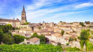 Saint Emilion in der Region Bordeaux