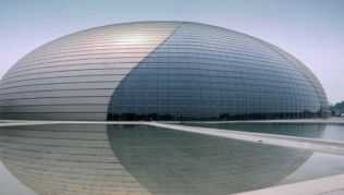 The Egg, Chinas neues Nationales Zentrum für Darstellende Künste in Peking